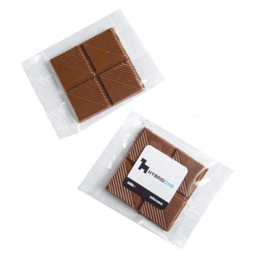 15 gram Chocolate Squares Cello Bag