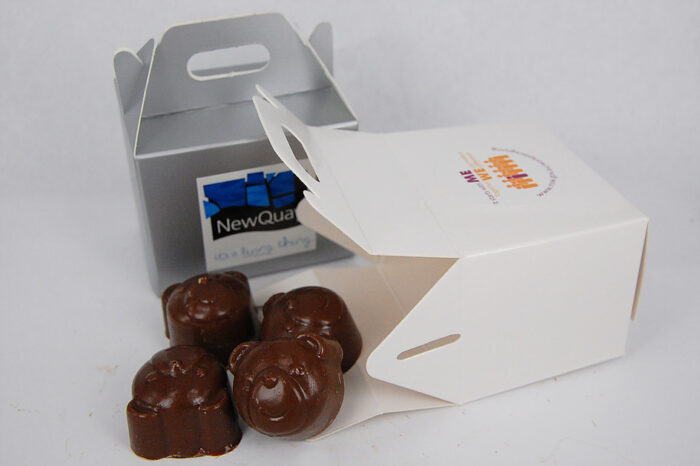 Custom Moulded Chocolate Noodle Box