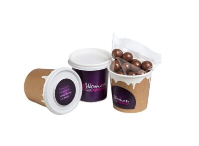 Chocolate Coated Coffee Beans Coffee Cup