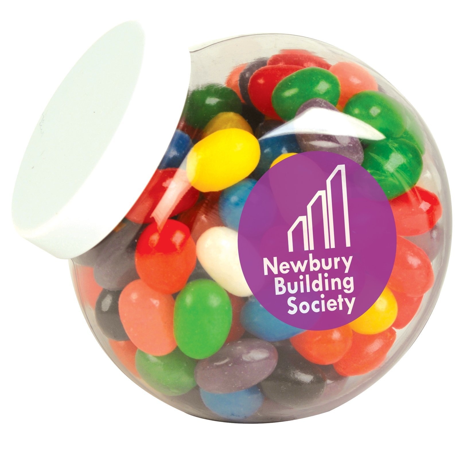 Jelly Bean Plastic Container