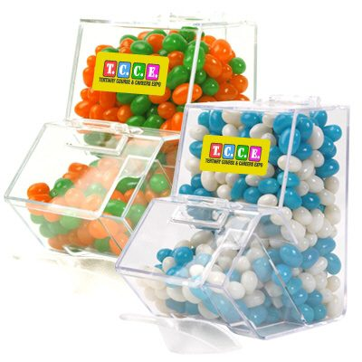 Jelly Beans Corporate Colours Dispenser