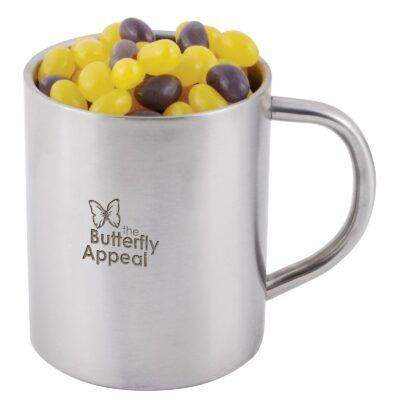 Jelly Beans Corporate Colours Stainless Steel Mug
