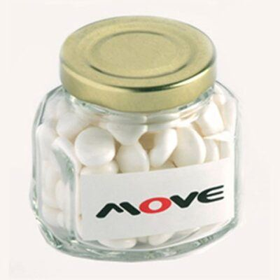 Mints Glass Jar