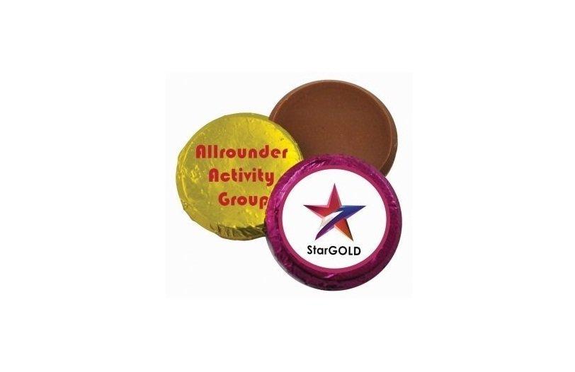 7 gram Chocolate Medal