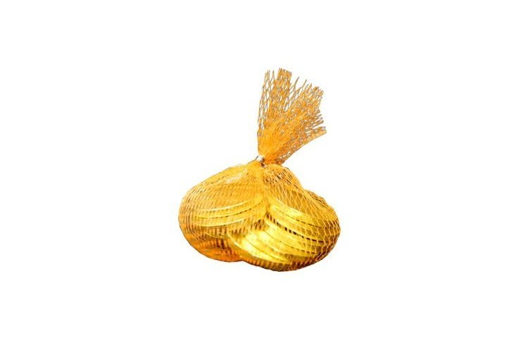 Chocolate Coins & Money Bag