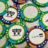 Bulk Chocolate Poker Chips