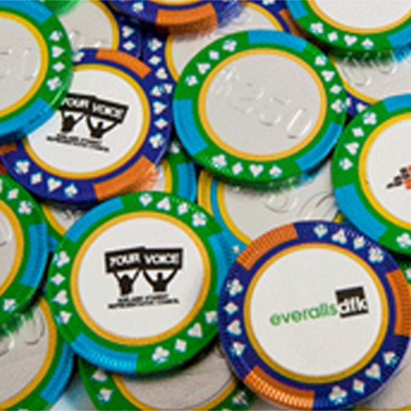 Bulk Chocolate Poker Chips
