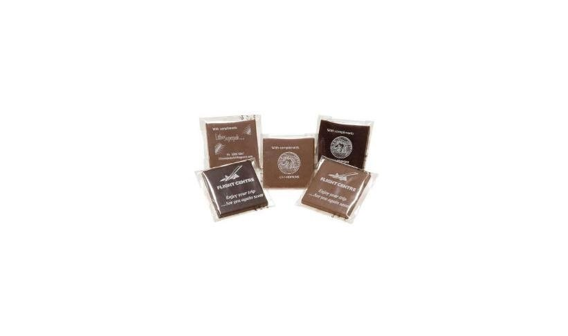 Edible Branded Chocolate Squares