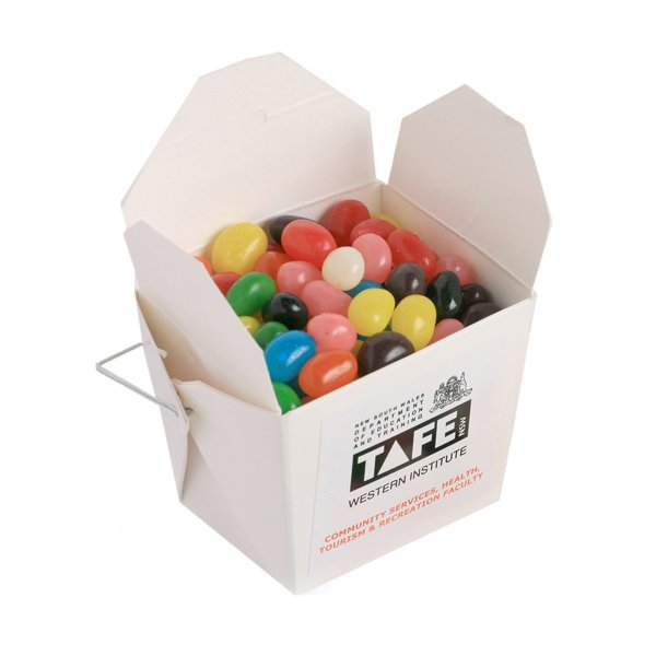 Jelly Beans White Noodle Box