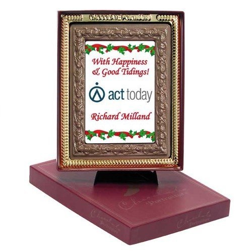 Chocolate Portrait Frame