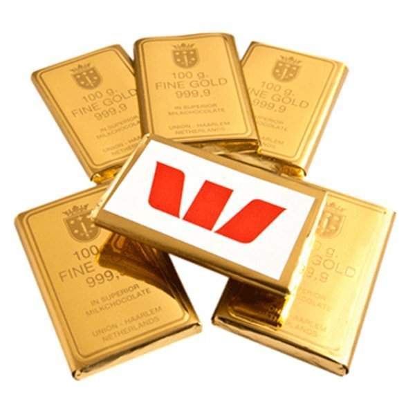 Chocolate 10 gram Gold Bullion Bar