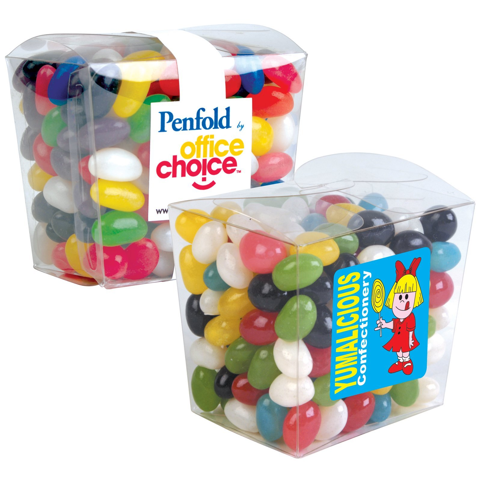 Jelly Beans Mini Clear Noodle Boxes