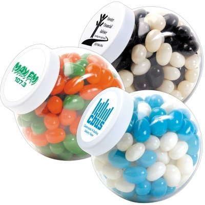 Jelly Bean Corporate Colours Plastic Container