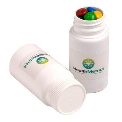 M&Ms Pill Bottle