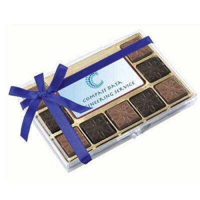 Belgian Chocolate Squares Gift Box