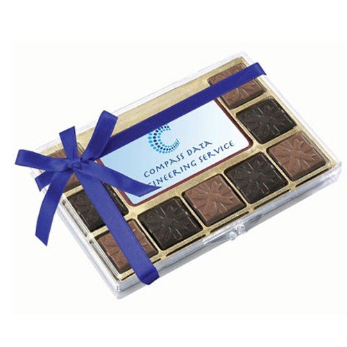 Belgian Chocolate Squares Gift Box