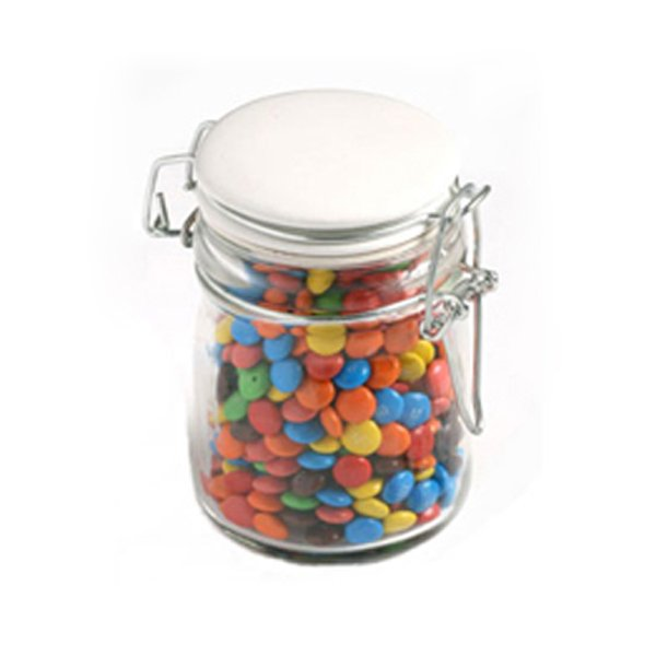 M&Ms Large Glass Jar