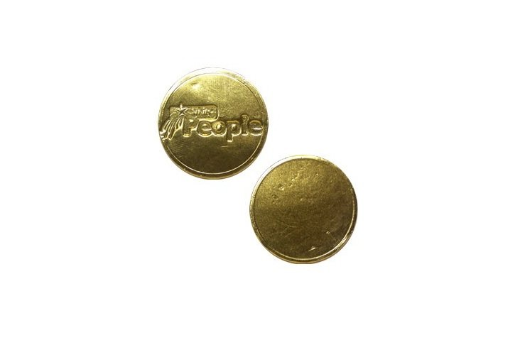 Branded Chocolate Coin