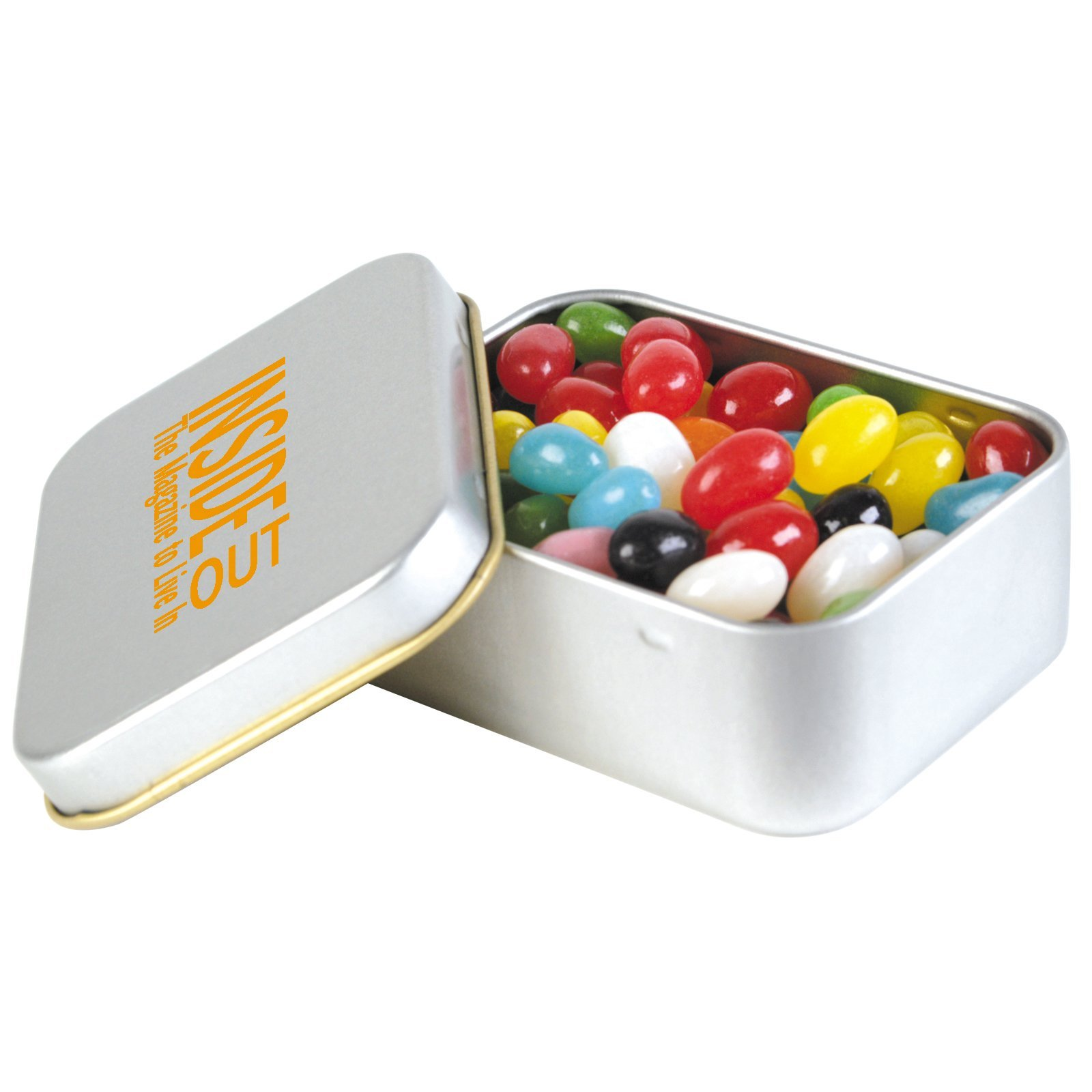 Jelly Beans Rectangle Tin