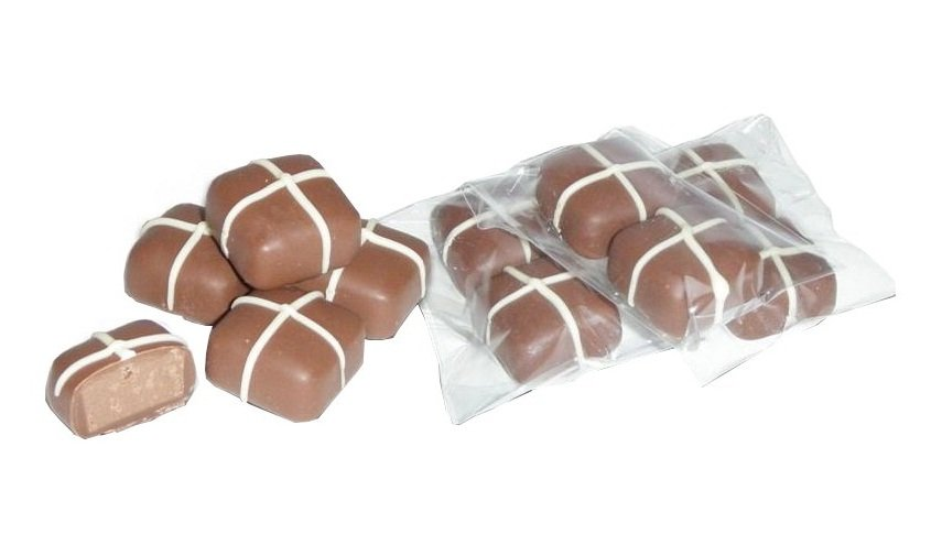 Sweet Spicy Hot Cross Bun Chocolate Two Pack
