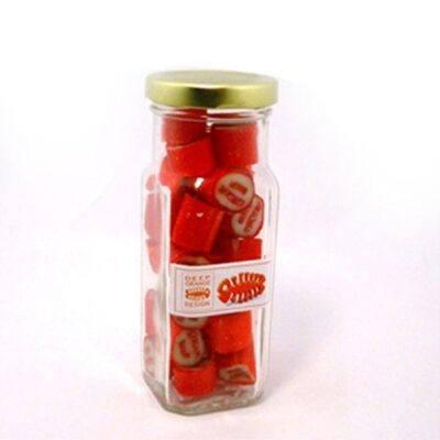 Rock Candy Tall Glass Jar