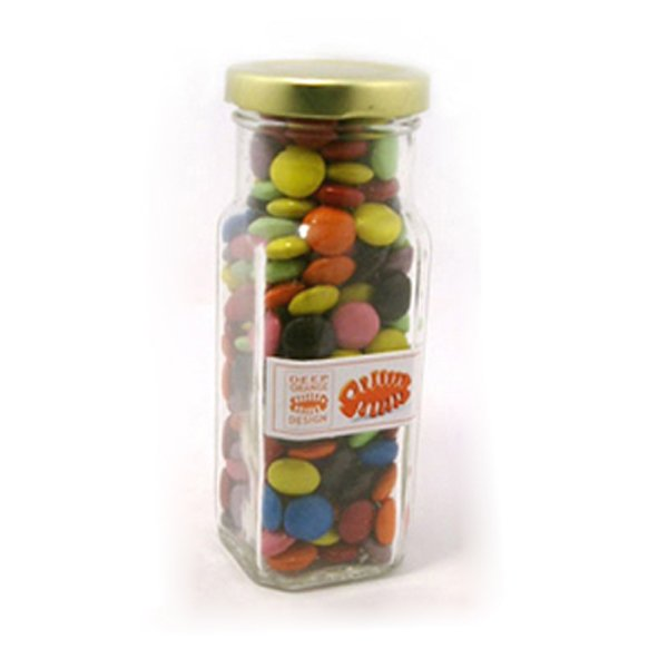 Choc Beans Tall Glass Jar