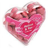 Chocolate Beans in Heart Box