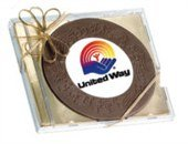 Chocolate Circle in CD Case