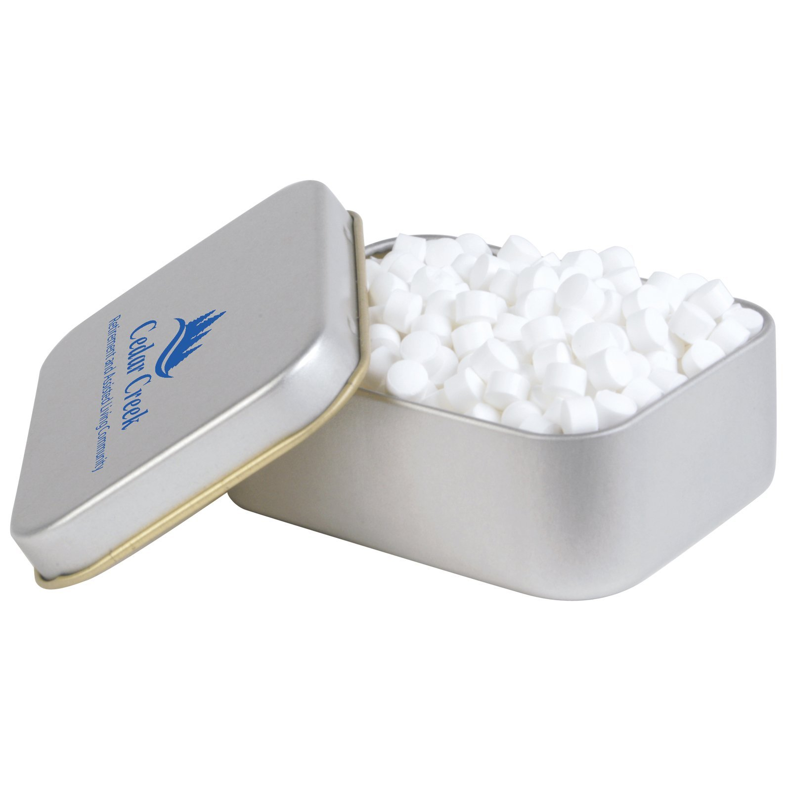 Peppermints Rectangle Tin