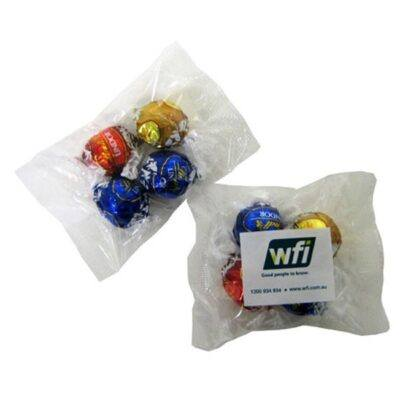 Lindor Balls 4 Pack Cello Bag
