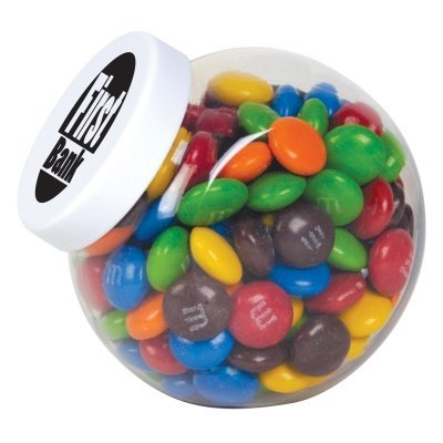 M&Ms in Canister
