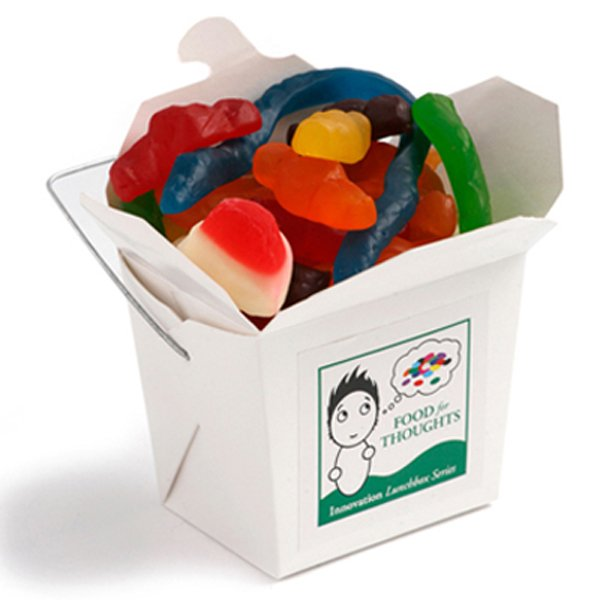Mixed Lollies White Noodle Box