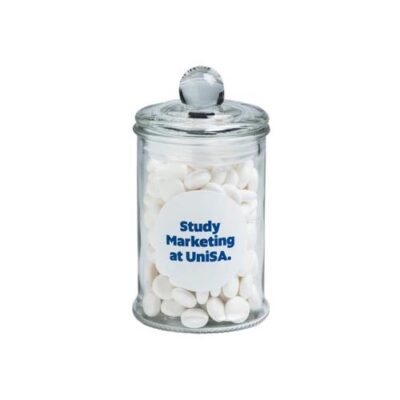 Mints Small Apothecary Jar