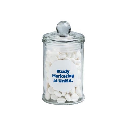 Mints Small Apothecary Jar