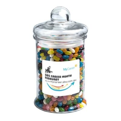 Jelly Beans Large Apothecary Jar