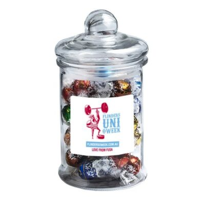 Lindt Balls Large Apothecary Jar