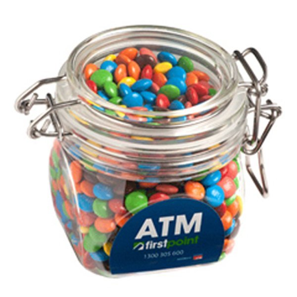 Mini M&Ms Acrylic Canister