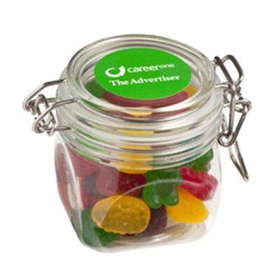 Mixed Lollies Acrylic Canister