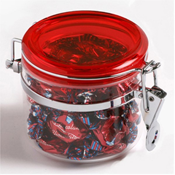 Mixed Eclairs Large Acrylic Canister