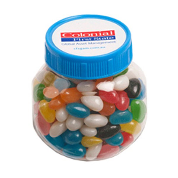 Jelly Beans Plastic Jar