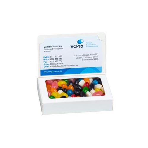 Jelly Beans Biz Card Box