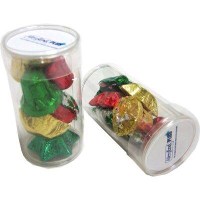 Christmas Chocolates Tube