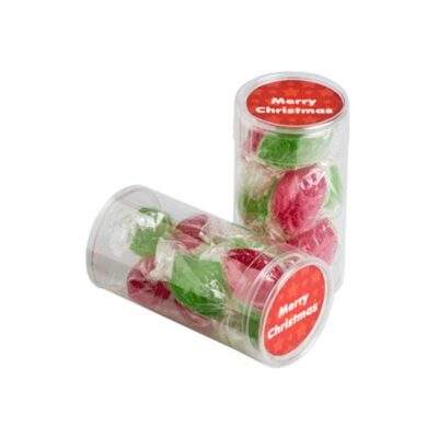 Christmas Boiled Lollies Tube