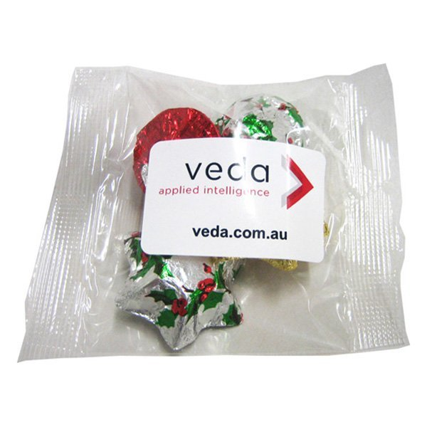 Christmas Chocolates 30 gram Bag