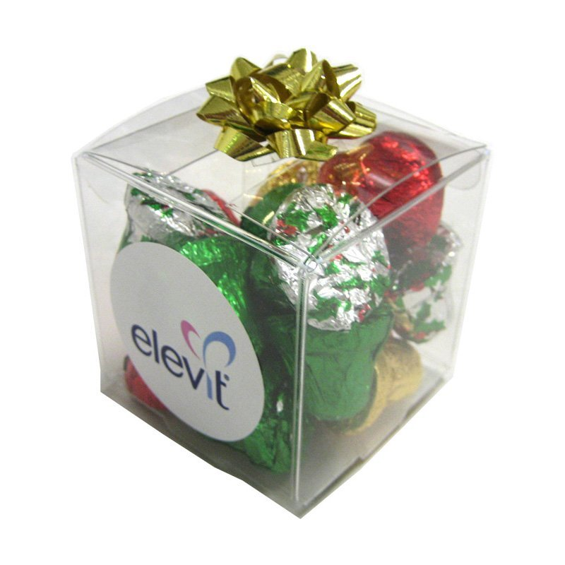 Christmas Chocolates 60 gram Cube