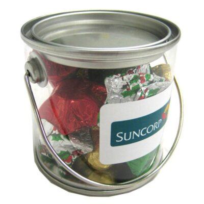 Christmas Chocolates Small Bucket