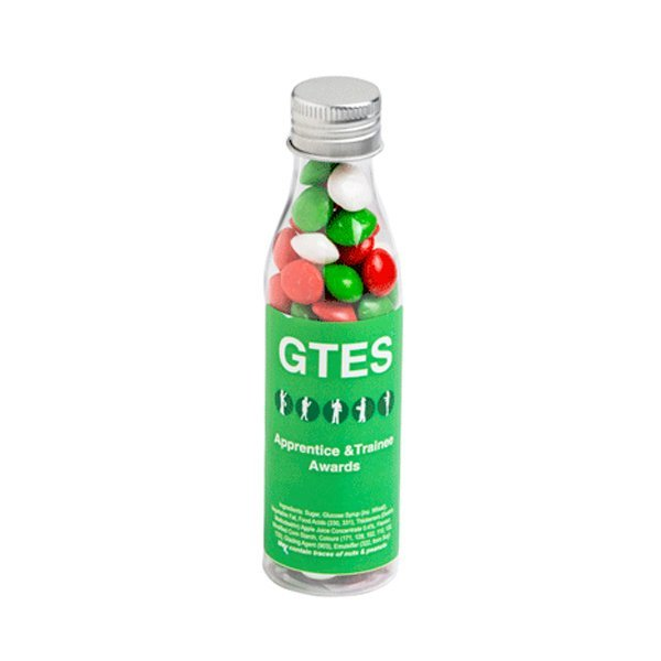 Christmas Chewy Fruits Soda Bottle