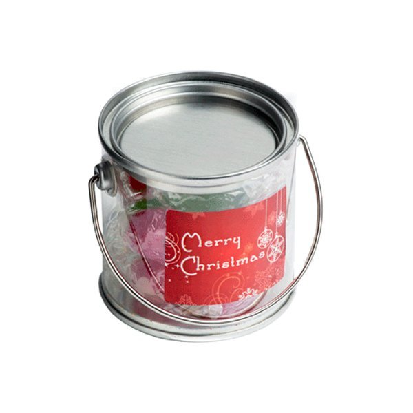 Christmas Boiled Lollies Small Bucket
