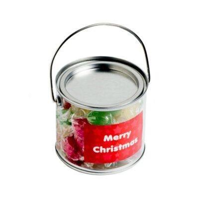 Christmas Boiled Lollies Medium Bucket