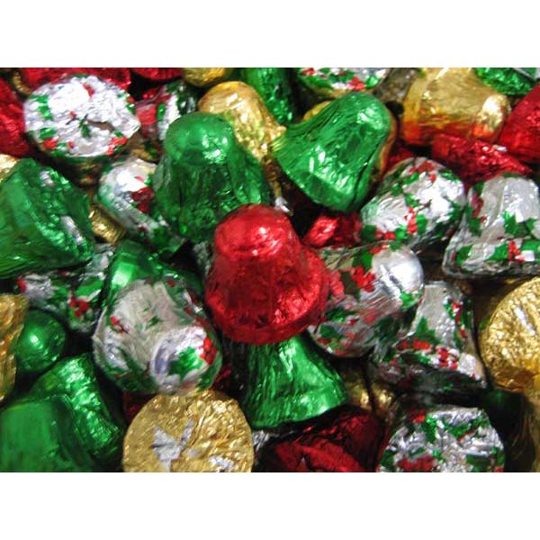 Bulk Christmas Chocolate Bells